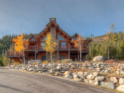 Photo for BSVR Nestled In The Trees With Amazing Outdoor Space! Ski Access And Hot Tub.