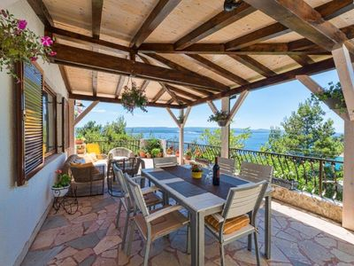 Photo for Spacious place with stunning sea view - big terrace