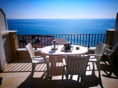 Photo for BEAUTIFUL APART. WITH SEA VIEWS, FIRST LINE, CENTRO SALOU