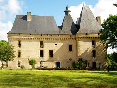 Photo for Holliday home in a beautiful Chateau with Pool and restaurant.