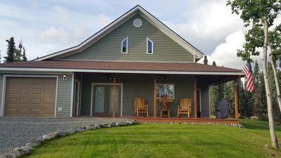 Photo for LOW Monthly rates! Brand New 3 Bed/2 Bath. Walk to Kenai river! Close to Bings!