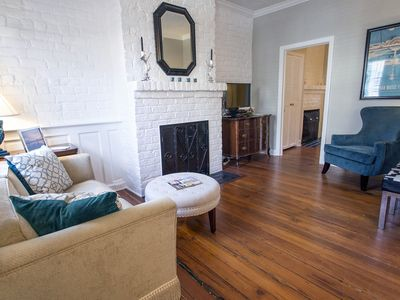 Photo for Stay with Lucky Savannah: Cottage on Congress w/ private parking & courtyard