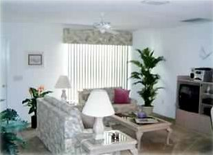 LIVING AREA, SOFA, LOVE SEAT, ENTERTAINMENT CTR  TV, DVD, VCR, STERO, CD CHANGER