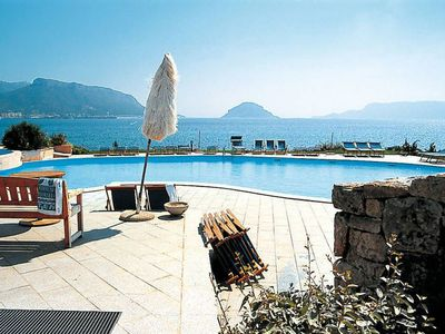 Photo for Holiday Apartment with Wi-Fi, Air Conditioning and Pool; Parking available