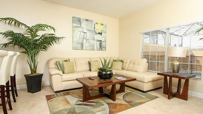 Photo for Fantastic 4 bed townhome with modern furnishings at Paradise Palms!