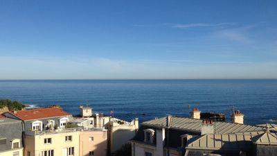 Photo for IN THE HEART OF BIARRITZ APPART 2/4 BEDS - PANORAMIC SEA VIEW - WIFI - PARKIN