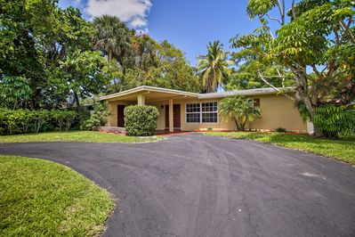Your next Florida retreat begins by booking this Fort Lauderdale area home.