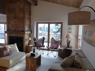 Photo for Chalet Chic in the best south facing position with a magical view, Lenzerheide-Arosa Resort