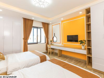 Photo for OurHouse-F3-1BR,2beds-Beach 2m-Airport 10m-Da Nang