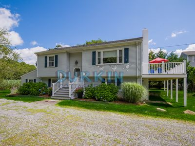 Photo for Spacious Raised Ranch, Access to Salt Pond, Expansive Backyard, Short Drive to Beach