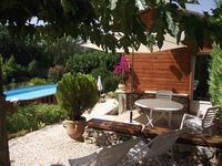 A pefectly located Gite in an idealic setting by the river at the edge of the village,
