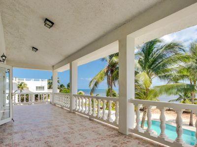 Photo for Stunning views, a pool, fresh sea air, and oceanfront location await!