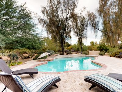 Photo for NEW LISTING! Dog-friendly stylish home with private pool & terrace