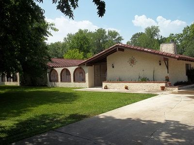 A Southwestern style home with 4200 sq ft of living space.  Country setting.