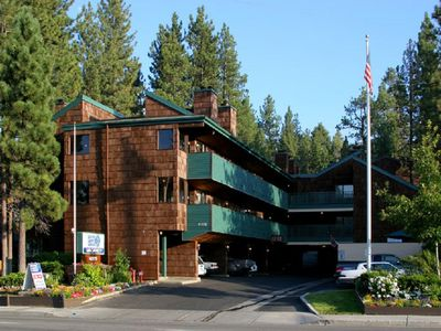 Photo for Snow Lake Lodge at Big Bear Lake!  One Bedroom/2 bath suite with 2 fireplaces!