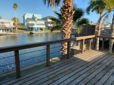 Photo for NEW TO VRBO!  Canal home Jamaica Beach close to Beaches & Galveston attractions