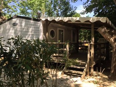 Photo for Camping Fouguières *** - Mobile home Cottage Grand Confort 2 Rooms 2/3 People