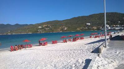 Photo for Arraial season 2. Beach of the Angels to 200m! Air conditioning and wi-fi.