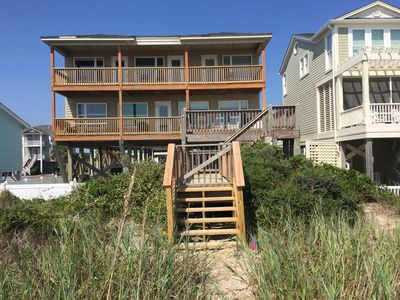 Photo for Loggerhead Landing--Beautiful oceanfront home with large private heated pool
