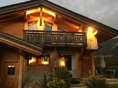 Photo for Luxurious chalet with spa and sauna