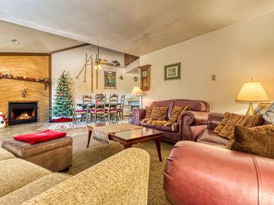 Photo for NEW LISTING! Spacious condo w/mountain views - close to skiing & biking trails