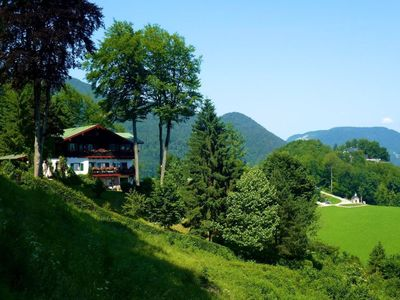Photo for Panorama apartment 'Watzmann' (65 m², large south-facing balcony, F ***** - DTV)