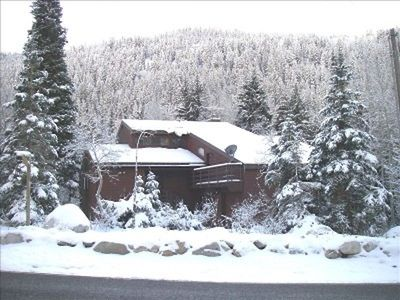 Photo for Great ski house with easy access yet a world apart...