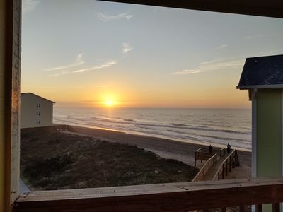 Photo for Beach Front Condo  Amazing Ocean View  Perfect Family Fun  Ocean-side  Pool