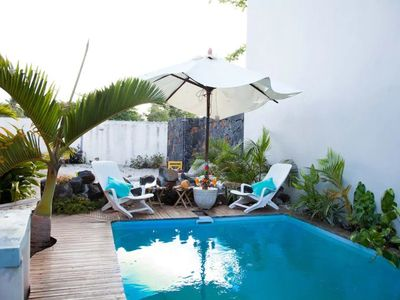 Photo for Beach & pool access for this wonderful Bungalow