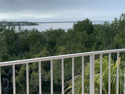Photo for NEW-Beautiful water view from this updated 4th floor 1 bedroom apartment