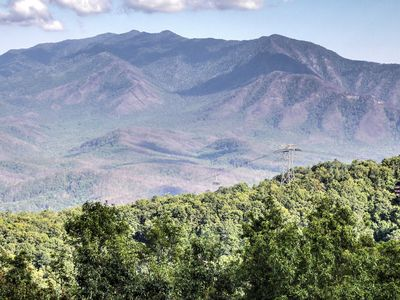 Photo for Amazing! See Mt LeConte & Gatlinburg From Balcony!