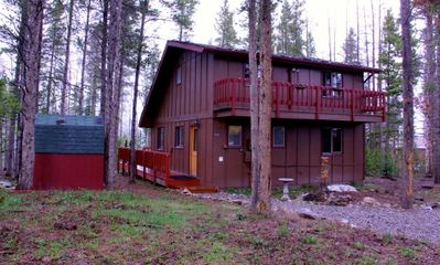Adorable cabin with private front deck