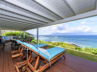Photo for ALA 23- Magnificent Ocean Front Home! Sleeps 8 - Discount for 14 plus days