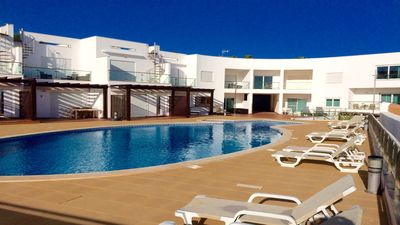 Photo for Recently constructed apartment with stunning views and large communal pool.