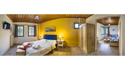 Photo for A Large Partitioned Double Room, at ZISSIS Hotel in Zagori
