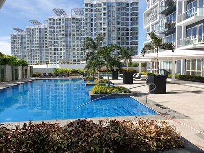 Photo for One Bedroom Suite Mactan Newtown with Beach Access Cebu