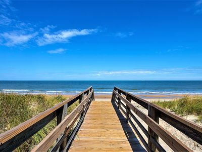 Photo for Beach Cottage Pier Suite ( 2 Bedroom Condo 1 Block from Beach)