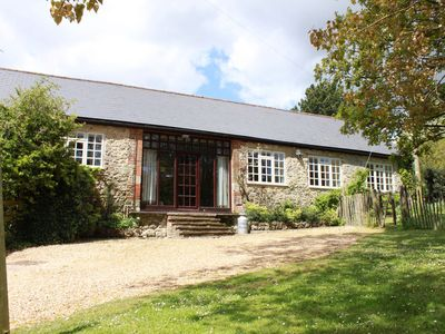 Photo for The Milking Parlour Cottage sleeping 6 on The Garlic Farm