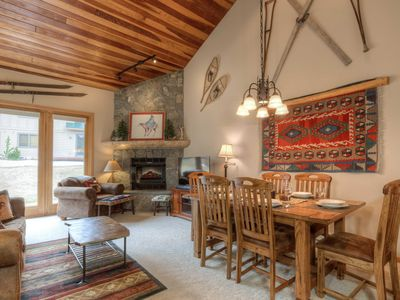 Photo for Charming  Mountain Village condo, ski in/out with private sauna room!