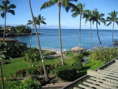 Photo for Kahana Sunset B1, 2 BD / 2 BA -Kick your slippers off and sink into PARADISE
