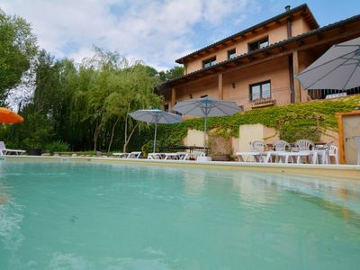 Photo for Club Villamar - Large house with huge garden, big swimming pool, wifi, fitness room, tennis table...