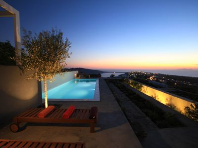 Photo for 270 Oia's View House III With Private Swimming Pool, Garden And Sunset View