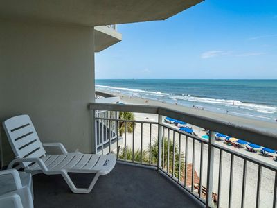 Photo for Oceanfront View at Waters Edge, Indoor Pool & Hot Tub WE 410