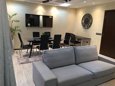 Photo for Beautiful apartment for families in the center of Casablanca- wifi 12 MO- Netflix