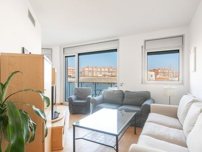 Photo for Beautiful apartment with beautiful views of the city very close to the inside for 4