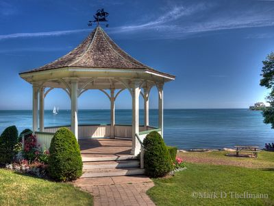 20 minute walk to the lake front and the beautiful gazebo