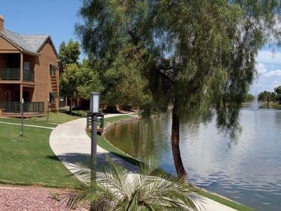 Lakeside Condo at Andersen Springs - Ground Level, Great View