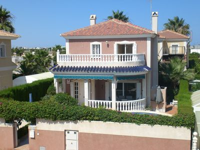 Photo for Fantastic 3 bedroomed detached villa with private pool, free wi-fi and A/C