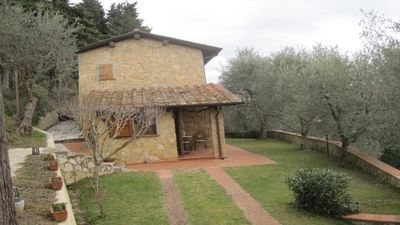 Photo for La Maggiolina Beautiful Tuscan style independent house