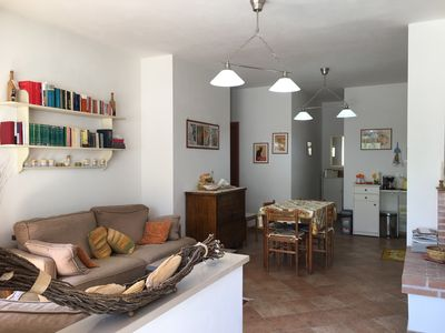 Photo for Apartment Monte in Villa Ettorina 4/5 people Poggio Mirteto